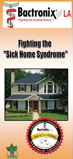 Residential Disinfecting - Louisiana - Fighting Sick Home Syndrome