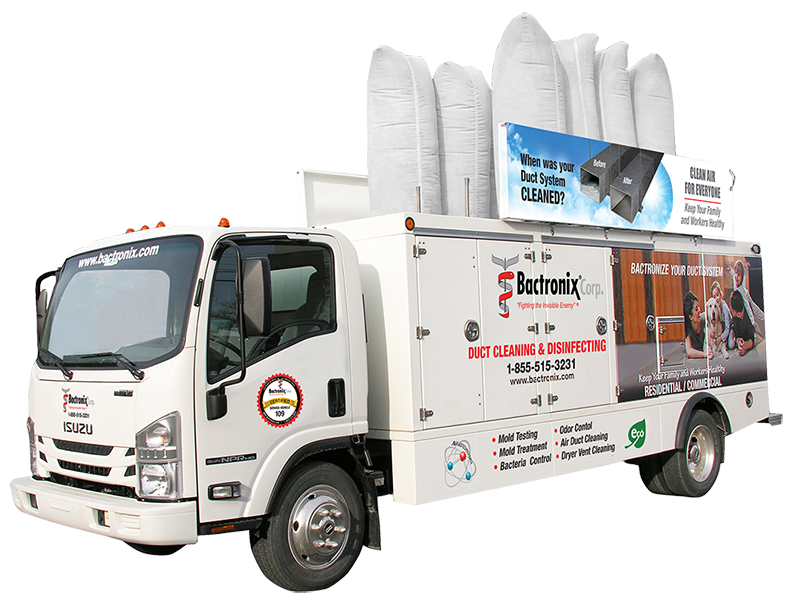 Duct Cleaning Service Truck